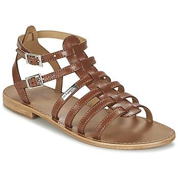 Shoes Women Sandals Les Tropéziennes par M Belarbi HIC Tan