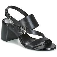 Shoes Women Sandals Ralph Lauren FLORIN Black
