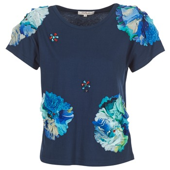 material Women short-sleeved t-shirts Derhy BANGKOK Marine