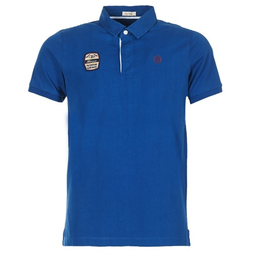 material Men short-sleeved polo shirts Serge Blanco DOSSART 15 Blue