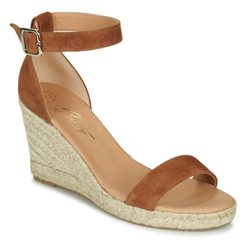 Shoes Women Sandals Betty London INDALI Brown