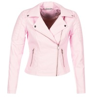material Women Leather jackets / Imitation leather Noisy May NMREBEL Pink