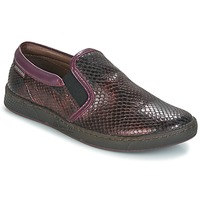 Shoes Girl Slip ons Pataugas JLIP-S-J4A Bordeaux