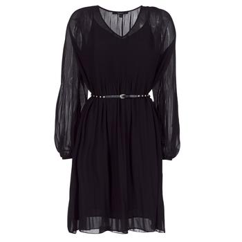 material Women Short Dresses Pepe jeans WINONA Black