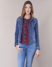 material Women Denim jackets Pepe jeans THRIFT Blue / Medium