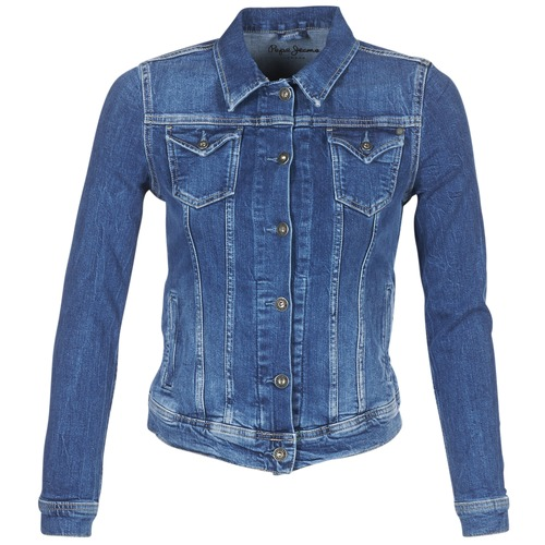 Pepe jeans THRIFT Blue   Medium - Fast delivery with Spartoo Europe ... f6cb404139