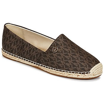 Shoes Women Espadrilles MICHAEL Michael Kors KENDRICK SLIP ON Brown