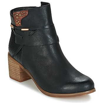 Shoes Women Ankle boots Elue par nous BEGINE Black