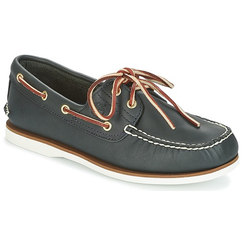 Shoes Men Boat shoes Timberland CLASSIC 2 EYE Blue