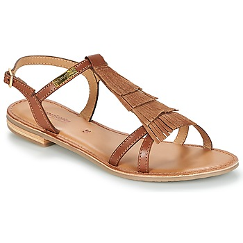 Shoes Women Sandals Les Tropéziennes par M Belarbi BELIE Tan