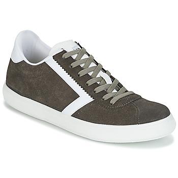 Shoes Men Low top trainers Yurban RETIPUS Grey