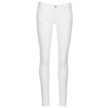material Women 5-pocket trousers Le Temps des Cerises 316 White