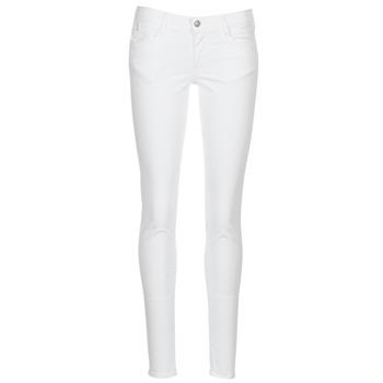 material Women 5-pocket trousers Le Temps des Cerises 316 White