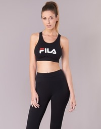material Women Sport bras Fila OTHER CROP TOP Black