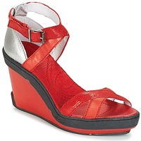 Shoes Women Sandals Pataugas GOUY Red