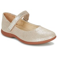 Shoes Girl Ballerinas Kickers AMBELLIE Gold
