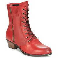 Shoes Women Ankle boots Dkode RONNIE Red