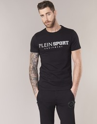 material Men short-sleeved t-shirts Philipp Plein Sport BY YOU Black / Silver