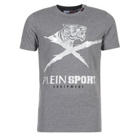 material Men short-sleeved t-shirts Philipp Plein Sport BORIS Grey / Silver