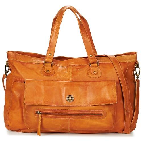 Bags Women Shoulder bags Pieces PCTOTALLY Cognac