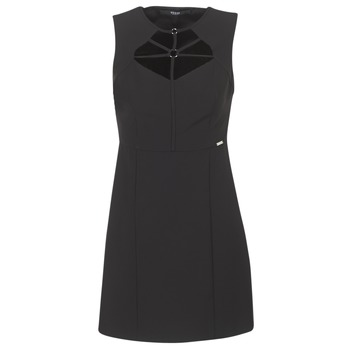 material Women Short Dresses Guess SLOREPA Black