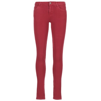 material Women slim jeans Guess SANSOPO Red