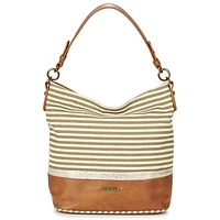 Bags Women Shoulder bags David Jones JOTI Green / Brown