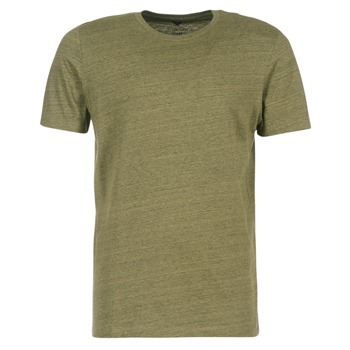 material Men short-sleeved t-shirts Jack & Jones TABLE CORE Kaki