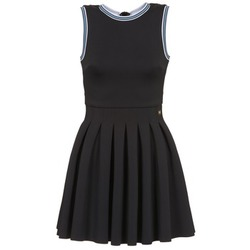 material Women Short Dresses Manoush ATHLETE Black