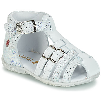 Shoes Girl Sandals GBB SAMIRA Vte / White