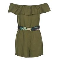 material Women Short Dresses Guess RESPUNNI Green