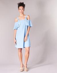 material Women Short Dresses Guess RACUNO Blue