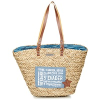 Bags Women Shopper bags Les Tropéziennes par M Belarbi AGAY Beige / Blue