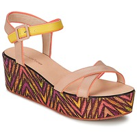 Shoes Women Sandals Paul & Joe Sister JENI Beige / Multicoloured