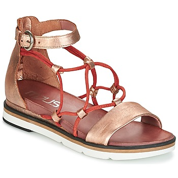 Shoes Women Sandals Mjus INA Gold / Brick
