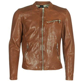 material Men Leather jackets / Imitation leather Redskins CROSS Cognac