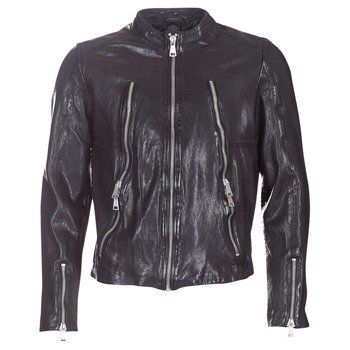 material Men Leather jackets / Imitation leather Redskins ROYCE Black