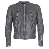 material Men Leather jackets / Imitation leather Redskins ROYCE Grey
