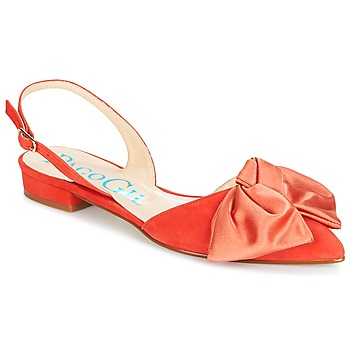 Shoes Women Sandals Paco Gil MARIE TOFLEX Red