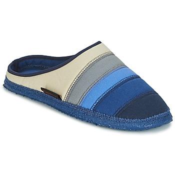Shoes Women Slippers Giesswein AZUSA Blue / Beige