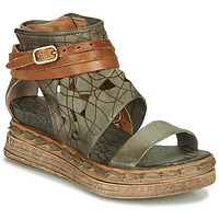 Shoes Women Sandals Airstep / A.S.98 LAGOS Kaki