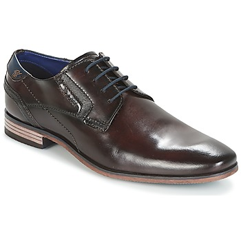 Shoes Men Derby shoes Bugatti Refito Brown