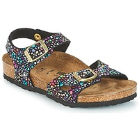 Shoes Girl Sandals Birkenstock RIO Black