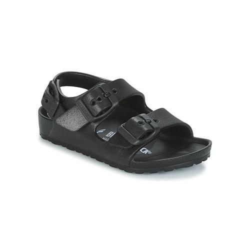 Shoes Children Sandals Birkenstock MILANO-EVA Black