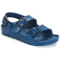 Shoes Children Sandals Birkenstock MILANO-EVA Marine