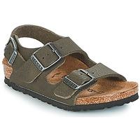 Shoes Boy Sandals Birkenstock MILANO Green