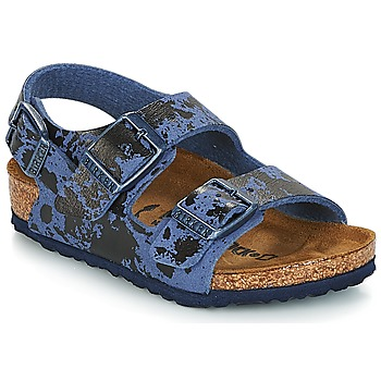 Shoes Boy Sandals Birkenstock MILANO Blue