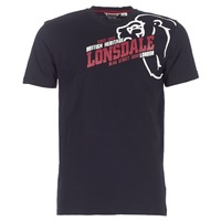 material Men short-sleeved t-shirts Lonsdale WALKLEY Black