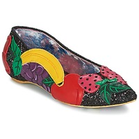 Shoes Women Ballerinas Irregular Choice BANANA BOAT Black