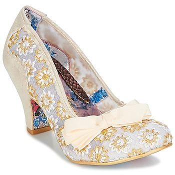 Shoes Women Court shoes Irregular Choice PALM COVE Beige
